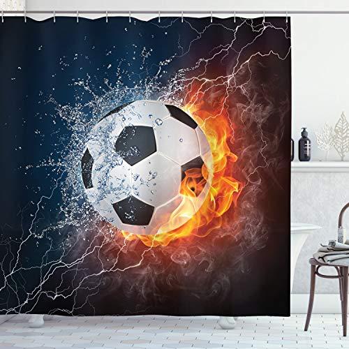 cortina futbol fabricante Ambesonne