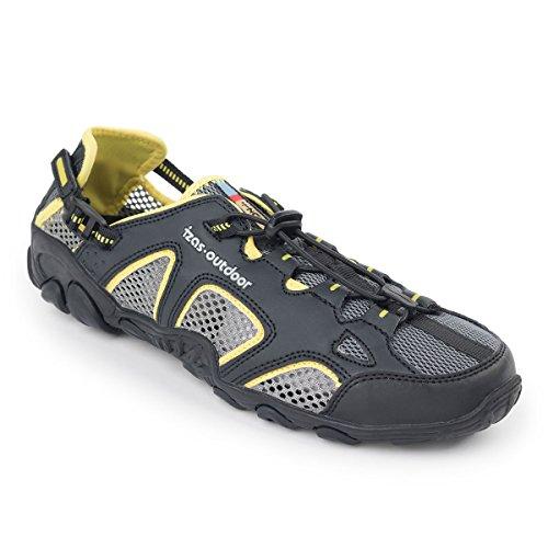 IZAS IUFFO00511YW/BK39 Chaussure d'eau Mixte Adulte, Jaune/Noir, Taille : 39