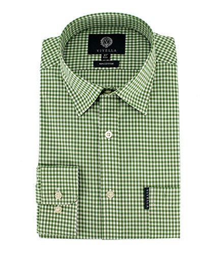 Viyella Herren Freizeit-Hemd grün grün Einheitsgröße Gr. 40, grün