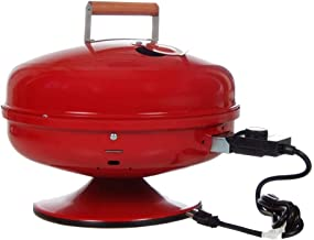 Americana  Lock 'N Go Electric Grill, Red