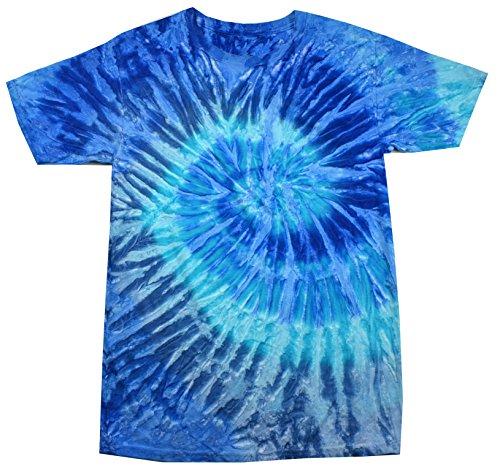 Colortone Tie Dye T-Shirt MD Blue Jerry