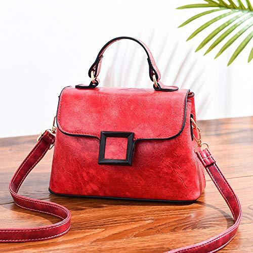 guoqushi handtas vrouwen draagbare handtassen -2019 kleine vierkante tas Trend handtas schoudertas retro Messenger tas Europa en Amerika handtassen