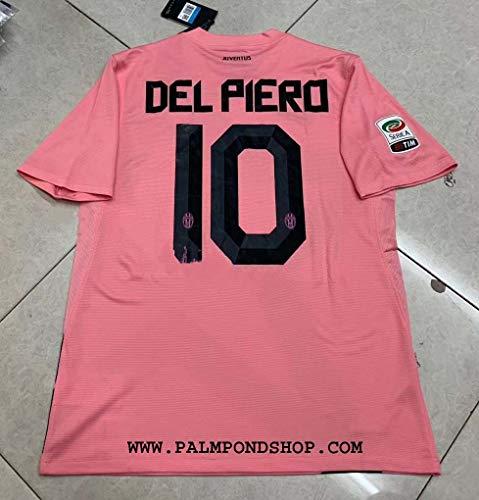 ZA Alessandro DEL Piero Retro Soccer Jersey Trikot 2012-2013 Size L PINK Color
