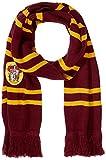 Cinereplicas - Harry Potter - Bufanda - Ultra Suave - Licencia Oficial - Casa Gryffindor - 190 cm - Rojo Vivo y Negro