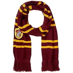Cinereplicas - Harry Potter - Bufanda - Ultra Suave - Licencia Oficial - Casa Gryffindor - 190 cm - Rojo Vivo y Negro 12