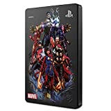 Seagate Game Drive para PS4 2 TB, Disco Duro portátil Externo HDD: USB 3.0, Avengers Special Edition – Team, diseñada para PS4 (STGD2000206)