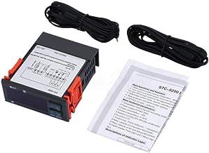 Kuinayouyi STC-9200 temperatuurregelaar, digitaal, thermostaat, regelaar, met koelventilator
