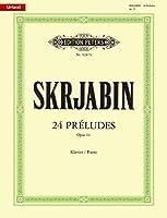 スクリャービン: 前奏曲 Op.11/原典版/ペータース社/ピアノ・ソロ