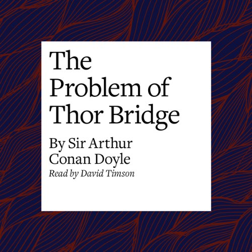 The Problem of Thor Bridge audiobook cover art