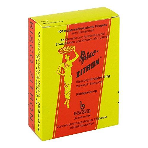 Bisco-Zitron magensaftres 100 stk