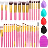 30 Pieces Makeup Brush Set Mini...