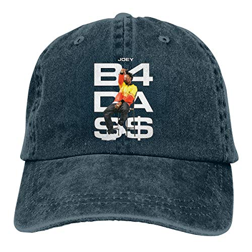 Joey Badass Hat Vintage Jeans Baseball Cap Classic Cotton Dad Hats Adjustable Navy
