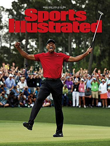 PosterWarehouse2017 Tiger Woods WINS 2019 Masters Sports Illustrated Cover Commemorative Poster