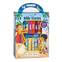 My Little Library: Bible Stories (12 Board Books & 3 Downloadable Apps!)