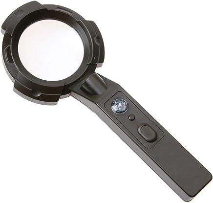 Eeayyygch Outdoor Outdoor Outdoor Multifunktionslupe 6 LED-Licht gefälschte Lichter beleuchtet Taschenlampe Kompass tragbar Vergrößerungsass B07MHMFJ47 | Erste in seiner Klasse  0390bf