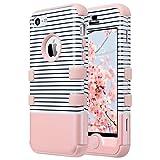 ULAK Coque iPhone 5c, Housse Dur de Protection en Multi-Couleurs Lourde en Matériaux...