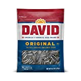 DAVID Roasted and Salted Original Sunflower Seeds, Keto Friendly, 14.5 oz
