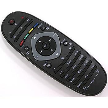 Ersatz Fernbedienung für Philips TV Fernseher Remote Control / PH12 / 40PFL82605K/02 40PFL8606K/02 40PFL9606K/02 40PFL9705H/1