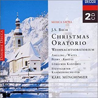 bach christmas oratorio soprano