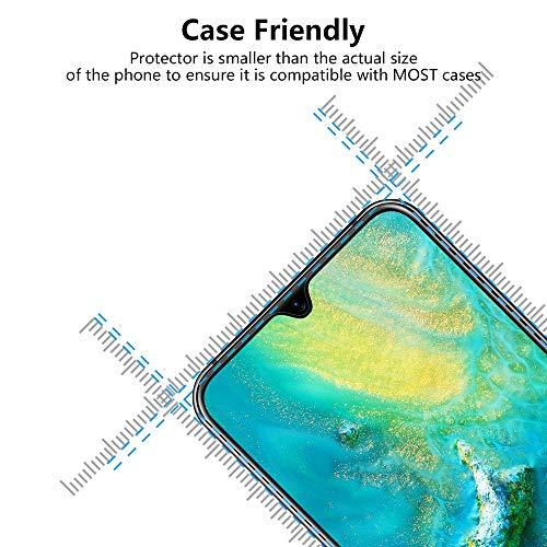 Bigmeda Schutzfolie für Huawei Mate 20, Blasenfrei, Anti-Kratzen, Anti-Öl, HD Klar Flexible Displayschutzfolie für Huawei Mate 20 Folie [3 Stück] - 3
