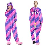 YQ&TL Unisex Adulto Tigre León Fox Onesie Animal Pijamas Cosplay Pijamas Halloween Carnaval Disfraz Loungewear C 130cm
