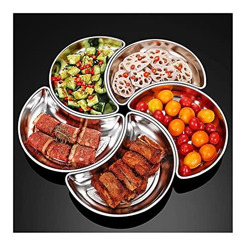 hongbanlemp Porta Frutta Nuovi contorni creativi, Piatti di Cottura, scaffali da Cucina, Preparazione alla Frutta Piatti Caldi Fruttiere