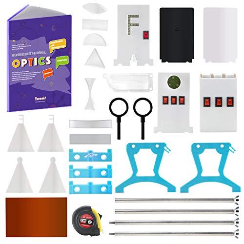 Teenii STEM Physik Wissenschaftslabor Optik Lernen Starter Kit Licht Experimente für Kinder Grundschule Junior Senior High School Schüler Bildung Spielzeug