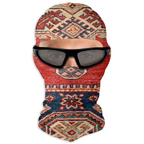NB Outdoor Sonnenschutz-Gesichtshandtuch, natürlich gefärbt, handgefertigt, Anatolischer Teppich, Kapuze, Sonnenschutz, doppellagig, kalt für Männer und Frauen