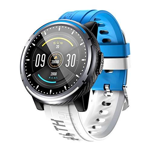 YYZ Moda Dailing Smart Watch Bluetooth Call Smart Relk Sleep Tracker Sleep Tracker Mensaje Smart Pulsera SmartWatch,A