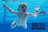 GB Eye Limited Nirvana Poster Nevermind, Holz, Mehrfarbig,
