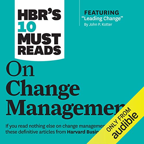 Page de couverture de HBR's 10 Must Reads on Change Management