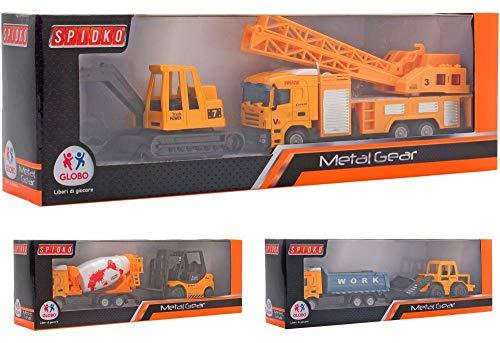 Globo Giocattoli Globo–374863Assortiti Spidko pressofuso Trucks