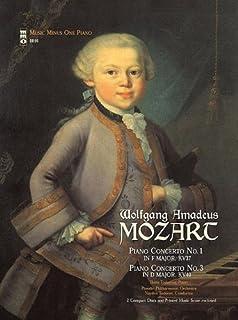 Mozart - Concerto No. 1 in F Major, Kv37; Concerto No. 3 in D Major, Kv40: 2-CD Set (Music Minus One Piano)