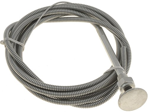 Dorman 55196 Control Cables with 1 in. Chrome Knob, 6 ft. Length