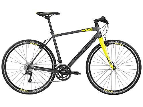 Bergamont Sweep 6.0 Fitness Bike Fahrrad grau/gelb 2016: Größe: 46cm (164-170cm)
