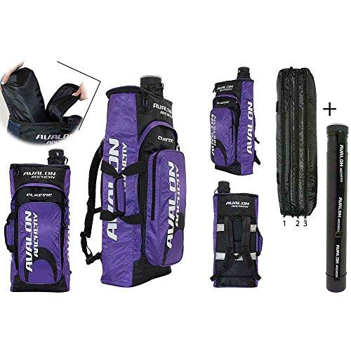 Avalon New Classic - Rucksack mit Pfeilröhre   violett