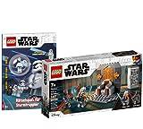 Collectix Lego 75310 Star Wars Duell sobre Mandalore + Atraicionamiento para trompetas de asalto (cubierta blanda)