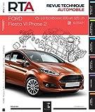 E.T.A.I - Revue Technique Automobile 812 - FORD FIESTA VI PHASE 2 - 2012 à 2017