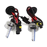 uxcell電球 ライト ランプ 自動車用 DC 12V 8000K H1 HID キセノン 交換部品 2個入り