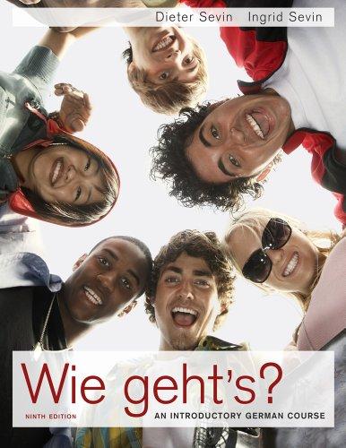 Bundle: Wie geht's?, 9th + Student Activity Manual