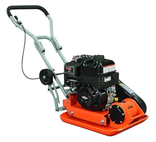 YARDMAX YC1390 3000 lb. Compaction Force Plate Compactor, Briggs, 6.5 hp, 208cc, 5500 BPM