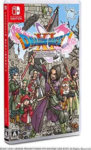 SQUARE ENIX DRAGON QUEST XI FOR NINTENDO SWITCH REGION FREE JAPANESE VERSION