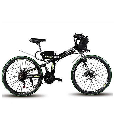 WXJWPZ Folding Electric Bike 24inch Electric Mountain...