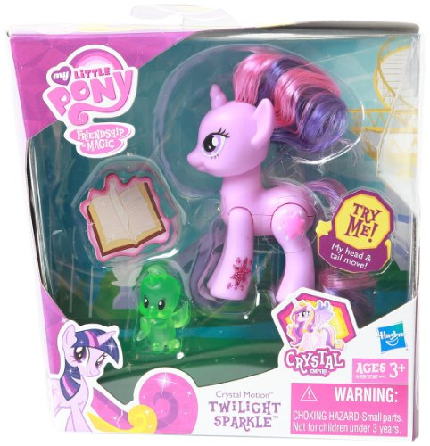 My Little Pony Deluxe Pony Crystal Motion Twlight Sparkle