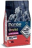 Monge Cane CROCCHETTA BWILD Low Grain all Breeds Puppy con Cervo 2,5 kg.