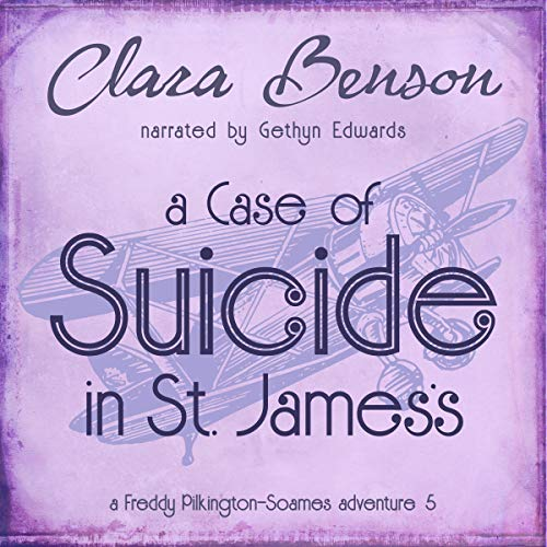 A Case of Suicide in St. James's audiobook cover art
