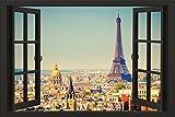 Close Up Paris Poster Window (91,5cm x 61cm) +