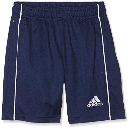 adidas Kinder CORE18 TR Y Shorts CORE18 TR Y, Blau (Dark Blue/White), 128 (Herstellergröße: 128)