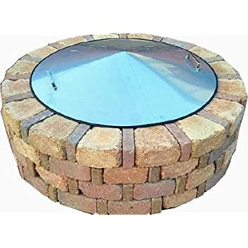fire pit cover metal