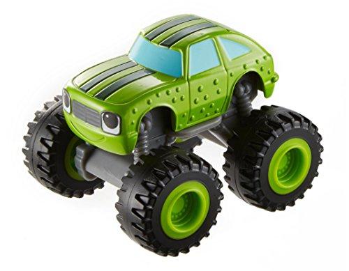 Blaze y los Monster Machines de Nickelodeon - Vehículo Pickle, Color Verde(Mattel CGF23)